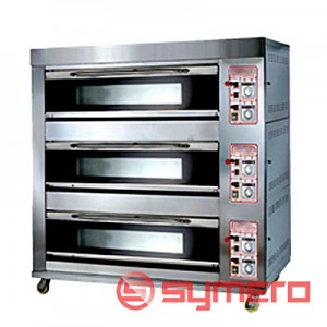 Oven 3 deck 6 Tray