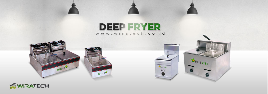 Mesin Deep Fryer New