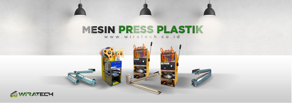 mesin press plastik banner