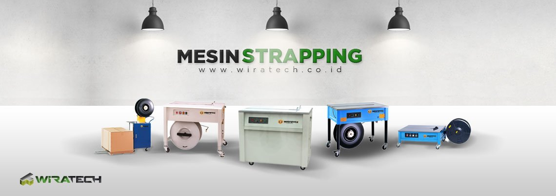 Mesin Strapping Banner
