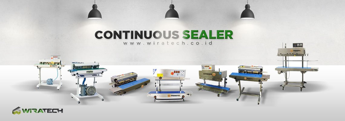 CONTINUOUS SEALER BANNER