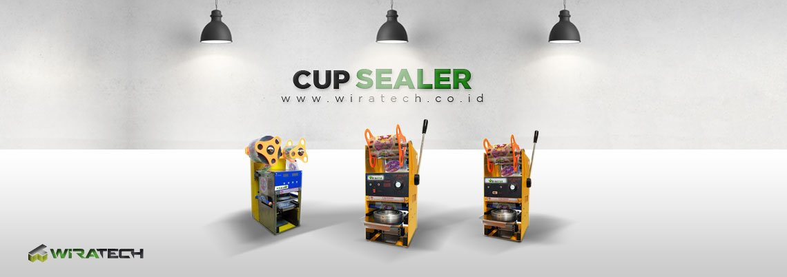 Mesin Cup Sealer Banner