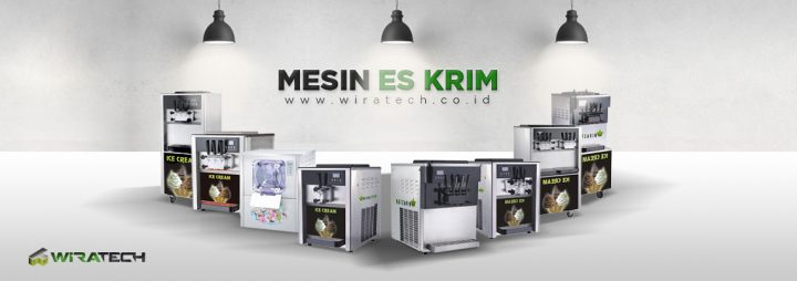 banner Mesin Es Krim New
