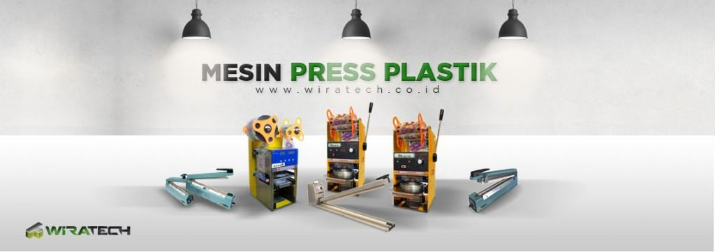 banner Mesin Press Plastik New