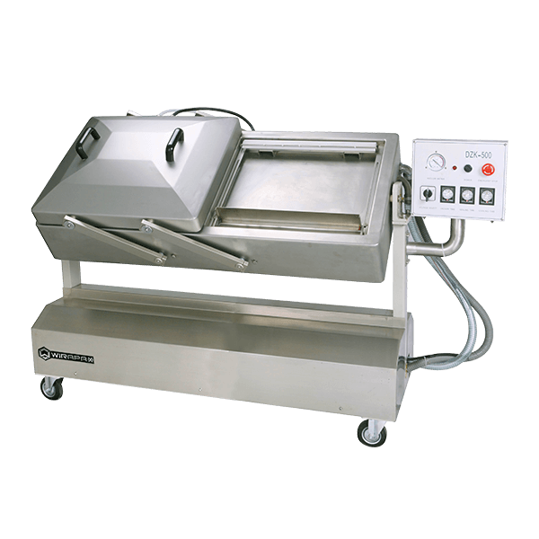 Wirapax Mesin Vacuum Sealer Adjustable Chamber DZK-500S