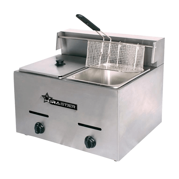 Wirastar Mesin Deep Fryer Electrik 2 tank