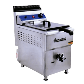 Wirastar Mesin G171-Auto-Single-Gas-Deep-Fryer