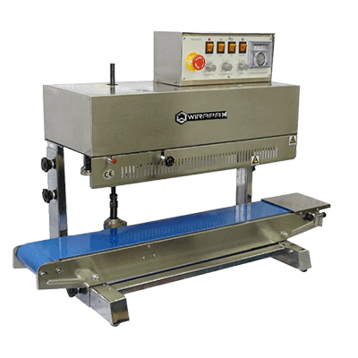 Continuous Sealer with Solid Ink Coding