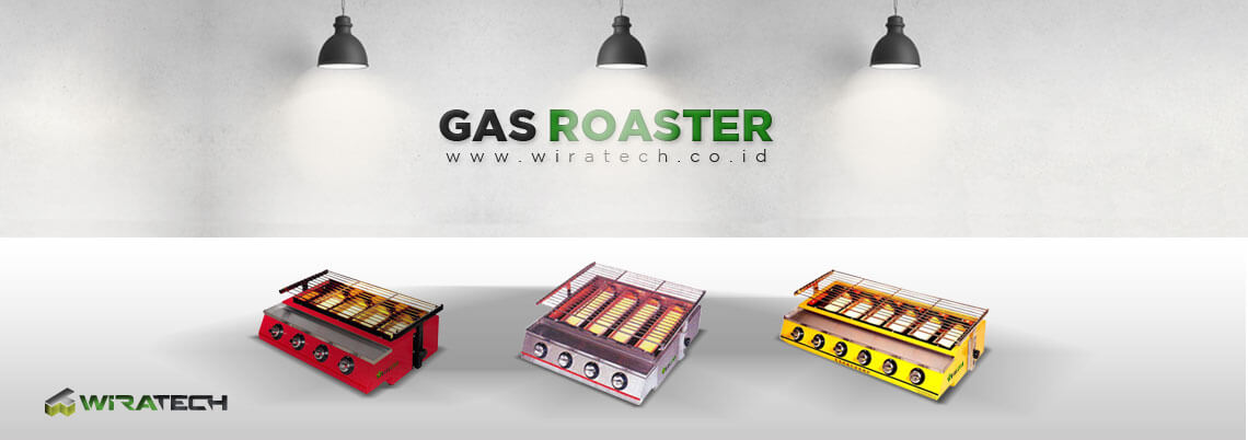 gas roaster wiratech