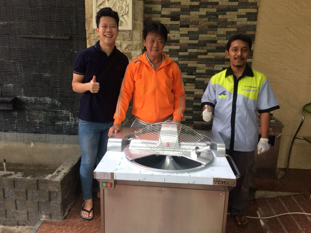 RIchard, Jakarta, Bowl Cutter Machine