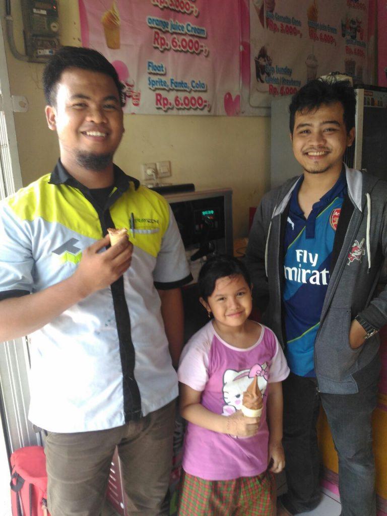Raka, Cikarang, Soft Ice Cream Machine