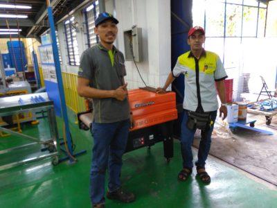 TI AUTOMOTIVE INDONESIA, Jatimulya Bekasi, Shrink Machine
