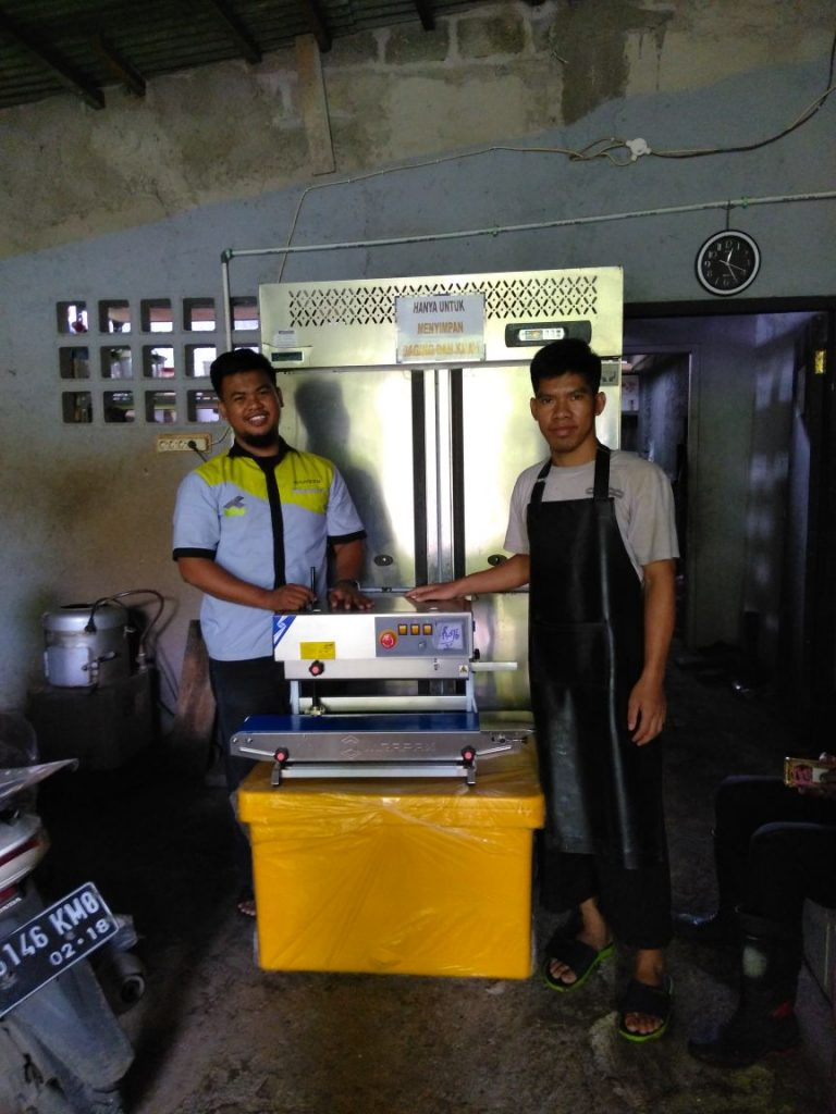 Waroeng Steak, Jakarta, Continuous Band Sealer