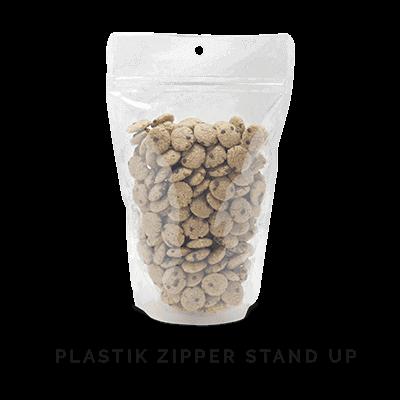 ZIPPER STAND UP