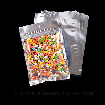 zipper kombinasi pouch