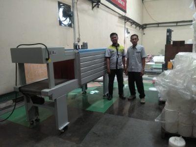 PT.RAJAWALI HIYOTO, Shrink Machine BS-5540M, Cimahi - Jawa Barat