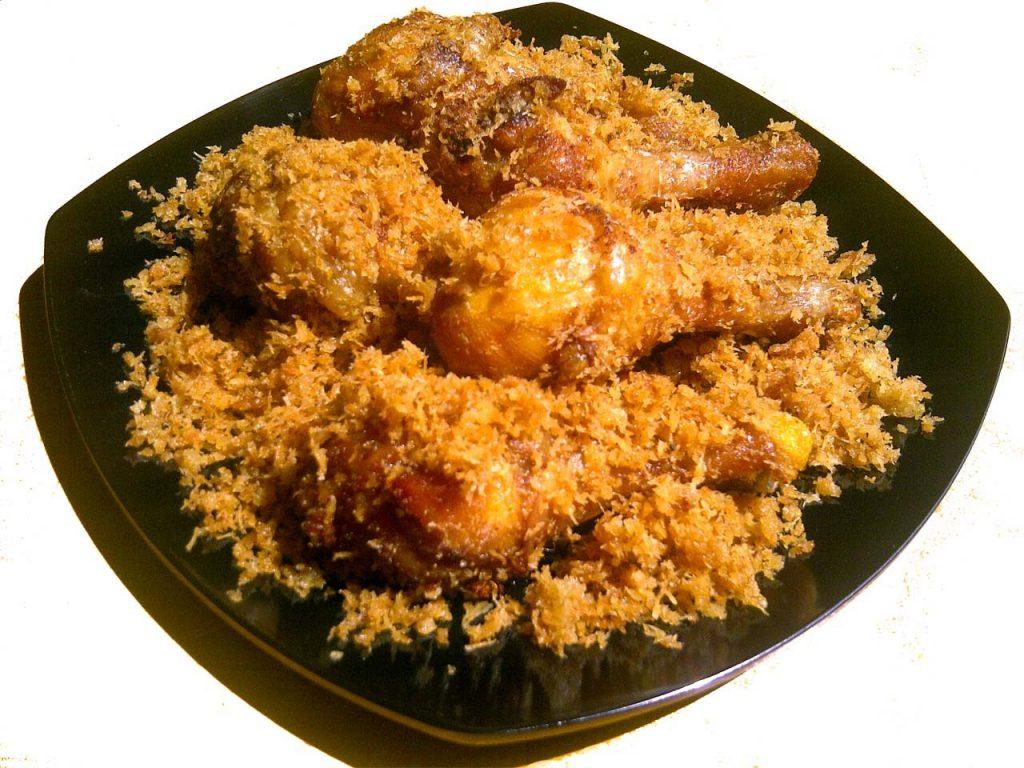 Cara Membuat Ayam Serundeng