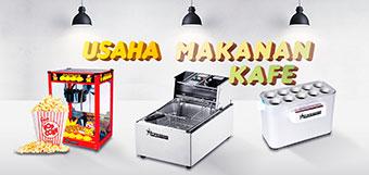 paket mesin usaha makanan kafe