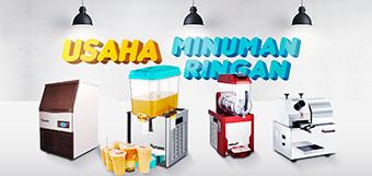 paket mesin usaha minuman ringan
