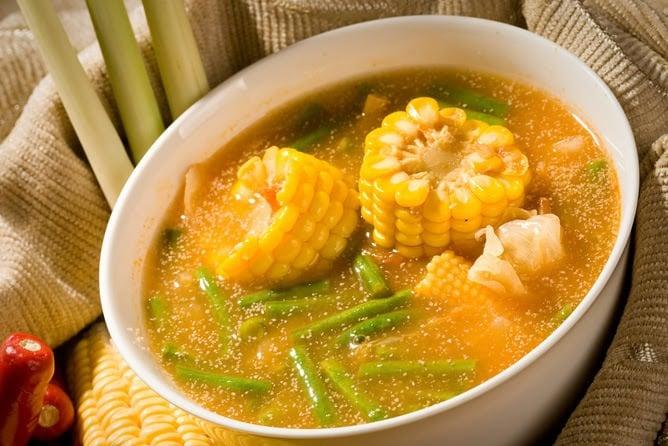 Image result for Sayur Asem Bumbu Kuning