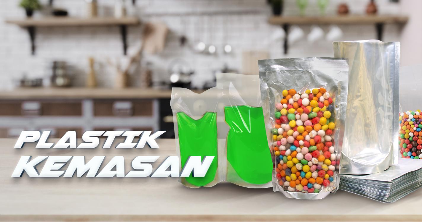 Plastik Kemasan Makanan Plastik Vacuum Zipper Shrink Stand Up