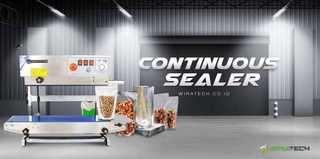 subcat banner continuous sealer