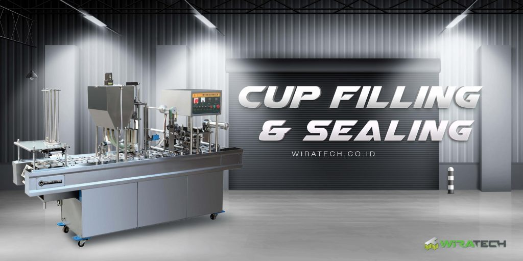 subcat banner cup filling sealing