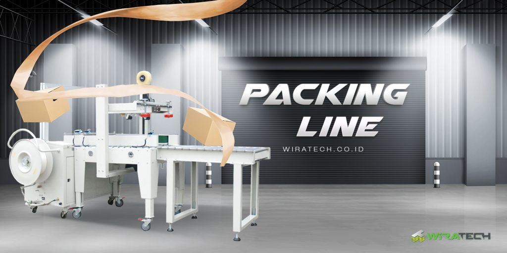subcat banner packing line